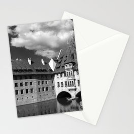Old Architecture  Nuremberg Stationery Cards