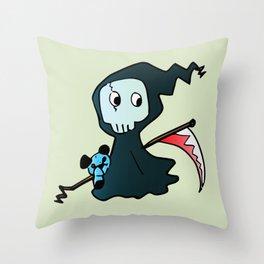 Chibi Shinigami Throw Pillow