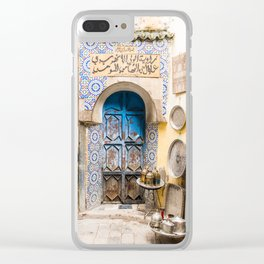 Doorways - Fes, Morocco II Clear iPhone Case