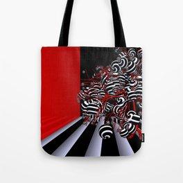 fancy tree in OpArt - design Tote Bag