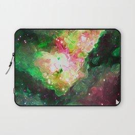 Rosy Galaxy Laptop Sleeve