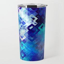 rectangle impressionism Travel Mug