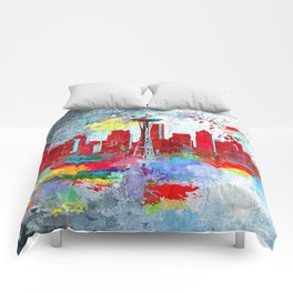 Seattle Grunge Comforters