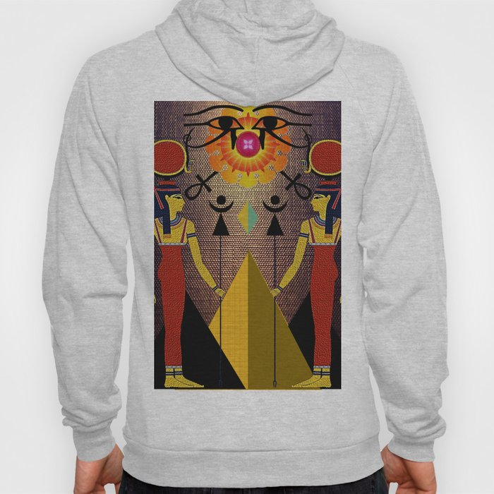 Hathor under the eyes of Ra -Egyptian Gods and Goddesses Hoody