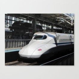 N700 Shinkansen Bullet Train Canvas Print