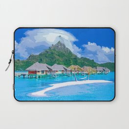 A Memorable Summer Vacation Laptop Sleeve