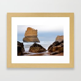 On Southern Shores Framed Art Print