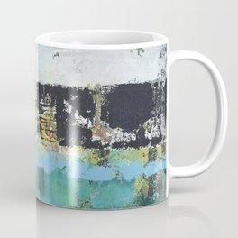 Aloe Abstract Painting Green Coffee Mug