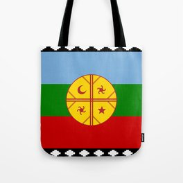 Flag of Mapuche Tote Bag