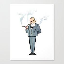 Sigmund Freud Canvas Print