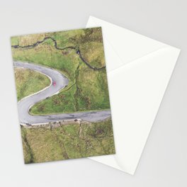 Hairpin bends on Glengesh Pass, Donegal Stationery Cards