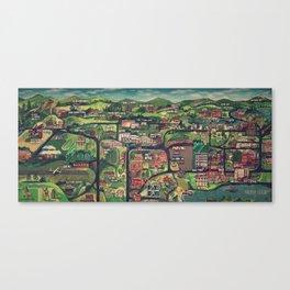 Memories of Lake Placid Canvas Print
