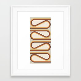 S-Curve Framed Art Print