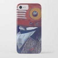 radiohead iPhone & iPod Cases featuring Radiohead by Daniela Albert