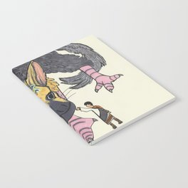 The Last Guardian Notebook