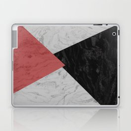 MARBLE TRIANGULES Laptop & iPad Skin