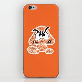 Goomba #CrackedOutBadGuys iPhone Skin