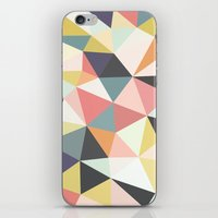 deco iPhone & iPod Skins featuring Deco Tris by Beth Thompson