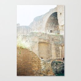 The Walls of the Baths of Caracalla 3 Canvas Print