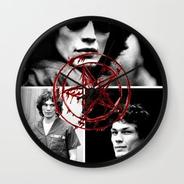 Richard Ramirez the Night Stalker Wall Clock