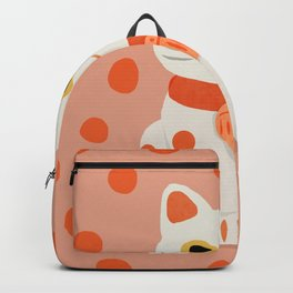 Abstraction_Lucky_Charm_Cat Backpack