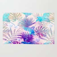 tropical Area & Throw Rugs featuring TROPICAL  by sametsevincer