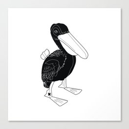 COMMUNIST DUCK Canvas Print