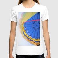 hot air balloon T-shirts featuring Hot Air Balloon by Brian Raggatt