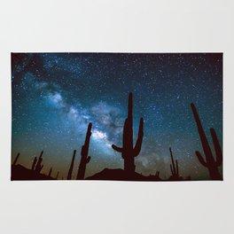 Milky Way Cacti Rug