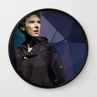 hamlet Wall Clocks featuring Benedict Cumberbatch - Hamlet Barbican by khitkhat