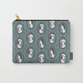 Crawley girls victorian downton Carry-All Pouch