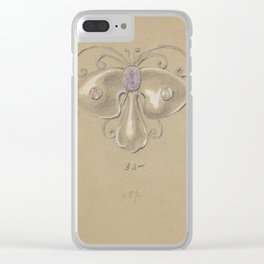 Bejeweled Butterfly Clear iPhone Case