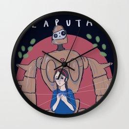 Ghibli - Castle in the Sky Wall Clock