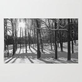 Sunburst Forest Rug