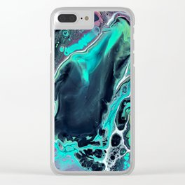 Caribbean Trance Clear iPhone Case
