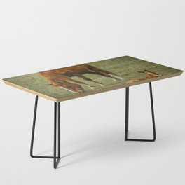 Horse And Foal Coffee Table