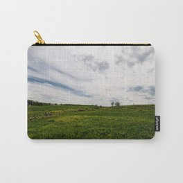 On Fields of Yellow and Green Carry-All Pouch