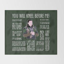 Loki Throw Blanket
