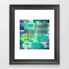 Pixel 2 Framed Art Print