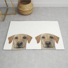 Rescue Dog series, Labrador mix, Chai Rug
