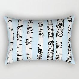 Birch pattern Rectangular Pillow