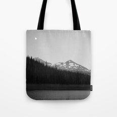 Hand Lake Tote Bag