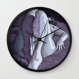 Prelude to a kiss Wall Clock