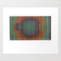 KINETIK #1 Art Print