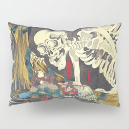Takiyasha the Witch and the Skeleton Specter- Utagawa Kuniyoshi Pillow Sham