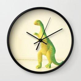 Dinosaur Attack Wall Clock