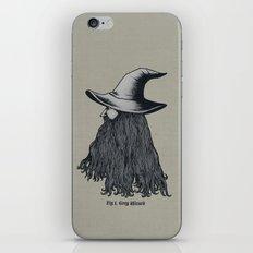 Grey Wizard iPhone & iPod Skin