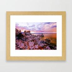 Mono County Rocks, Part I Framed Art Print