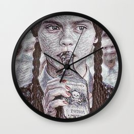 Wednesday's Drink Wall Clock