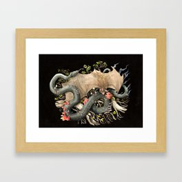 Out of the Stump Rot Framed Art Print